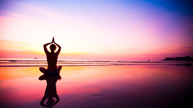 Yoga Sunset  Image