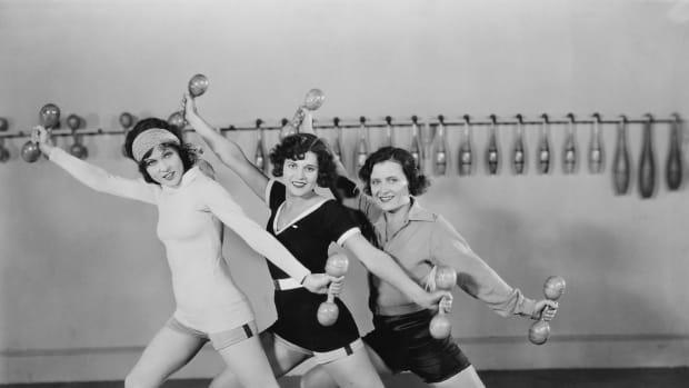 Female Gym Image Old School