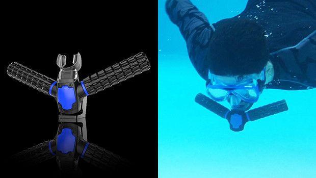Triton Breathe underwater