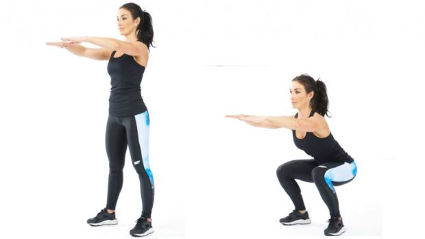 Tabata Workout Squat