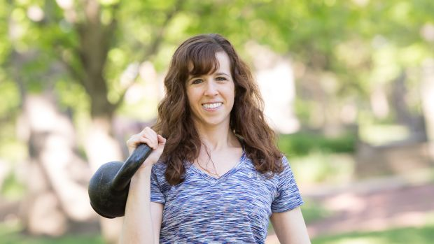 Kettlebells and smiles