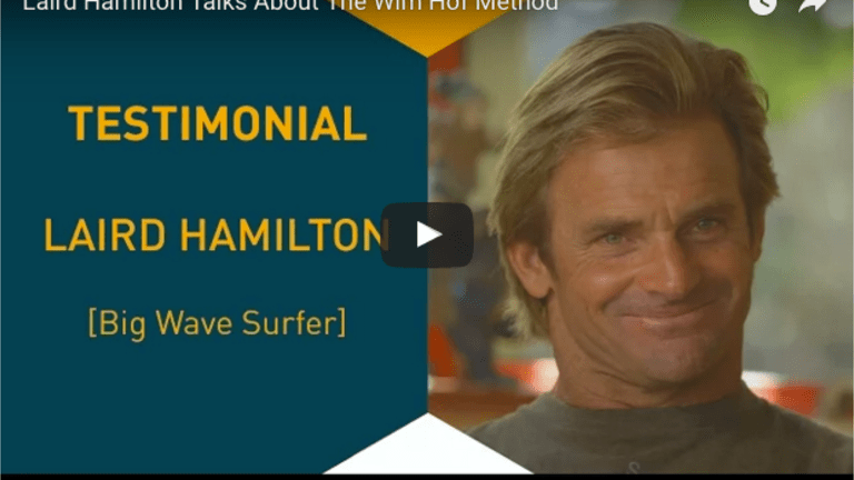 Pro Surfer Laird Hamilton Talks About The Wim Hof Method