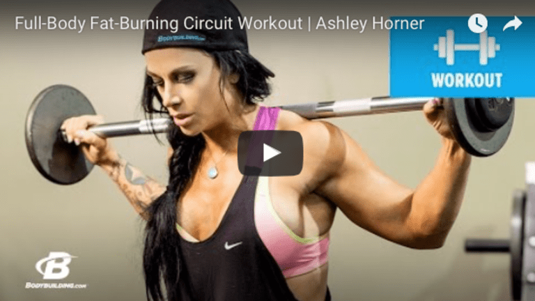 Full Body Fat-Burning Circuit Workout
