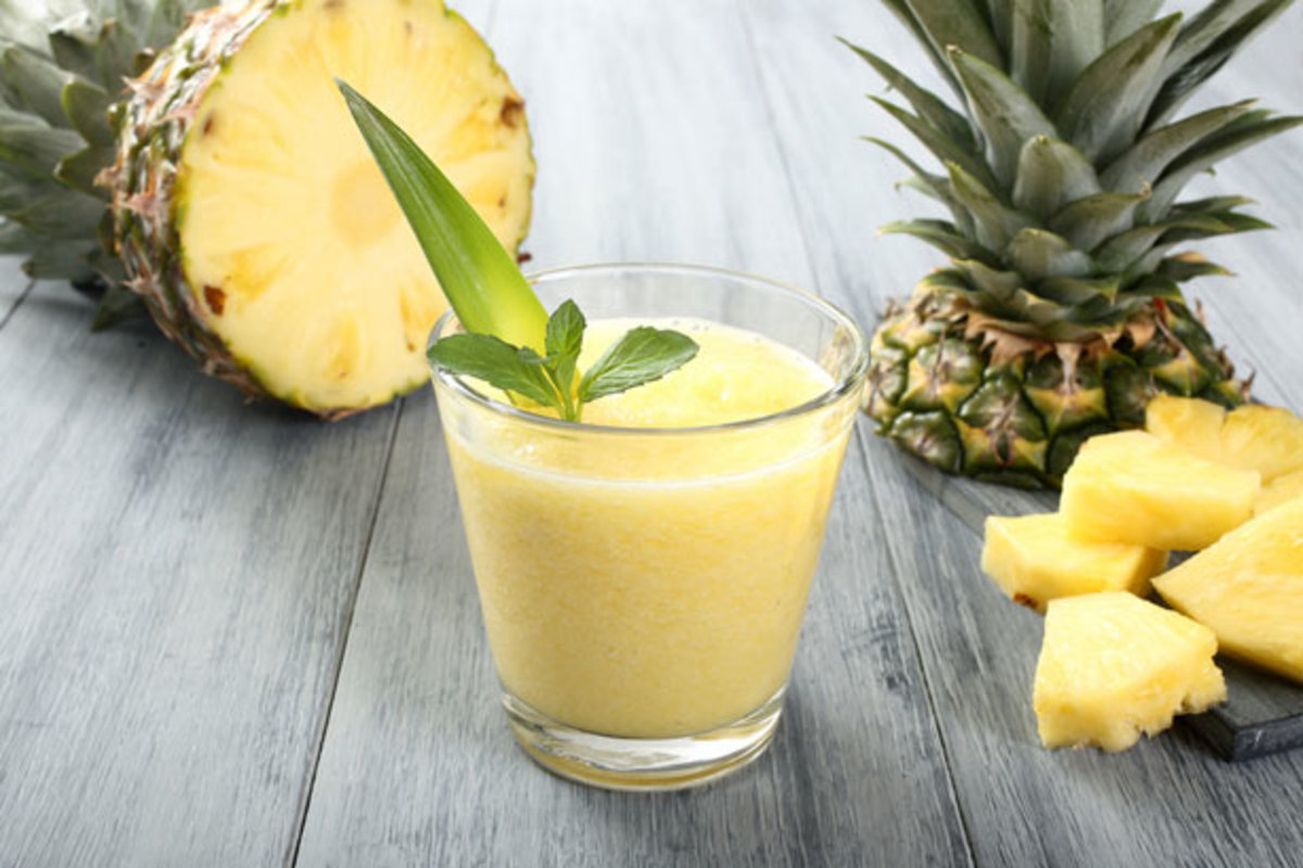 Health - Tropical Bliss Pre-Workout Super Smoothie Recipe