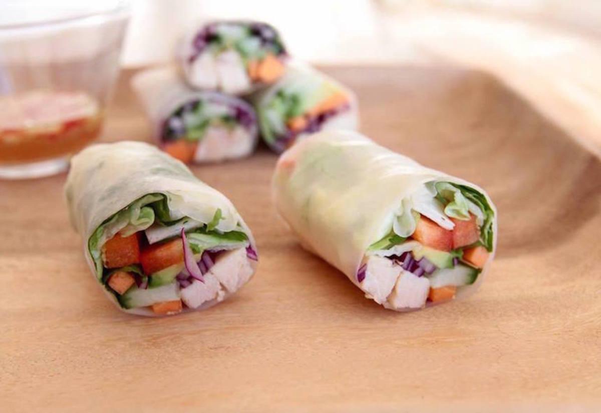 Tanja's Vietnamese Chicken Rolls