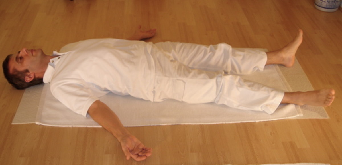 Shavasana Corpse Pose