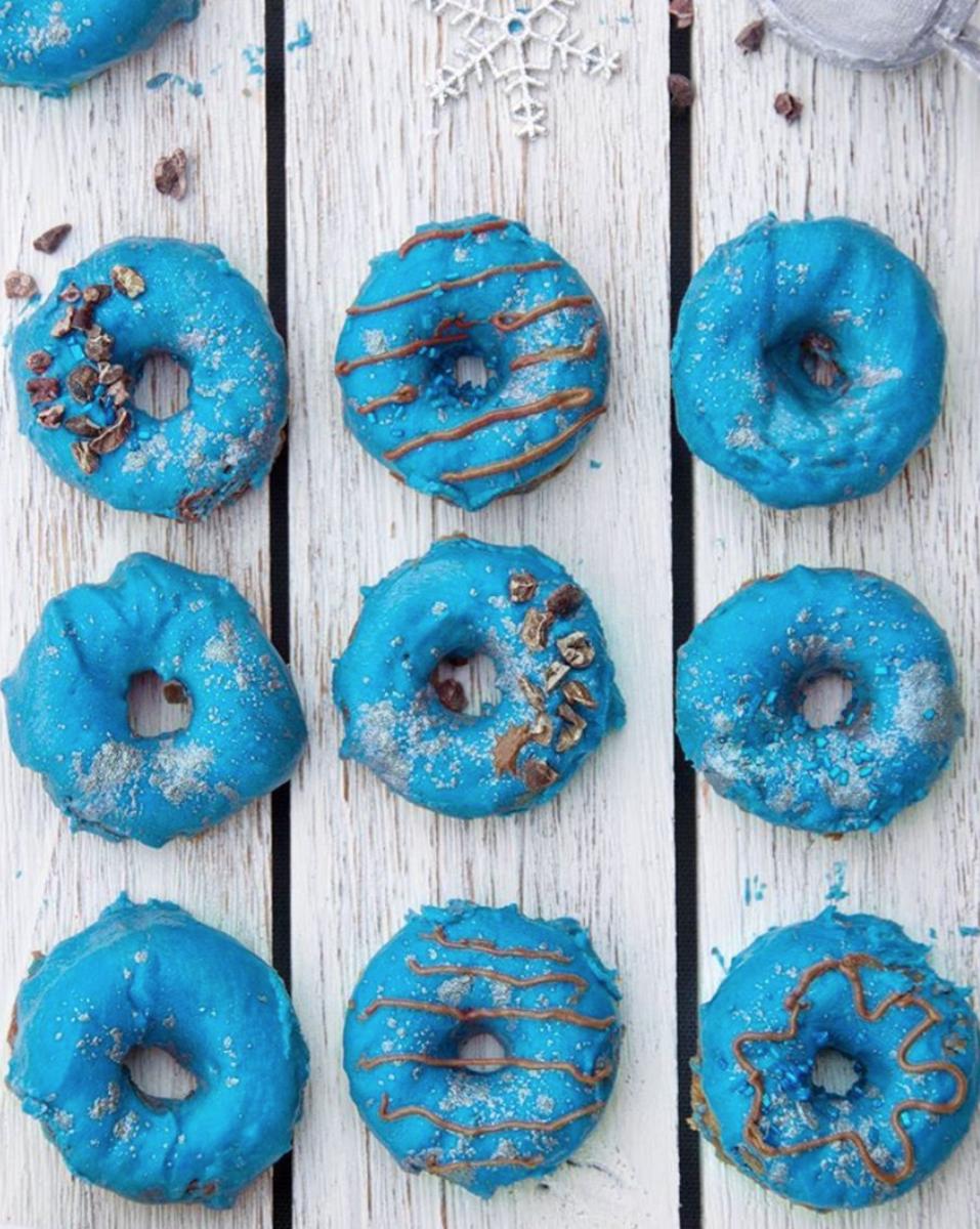 blue majik donuts